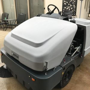 Used Nilfisk SR1601 Industrial Ride on Sweeper