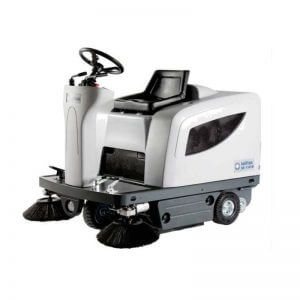 Nilfisk SR1101 Battery Ride On Vacuum Sweeper