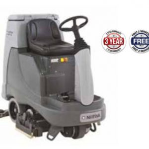 Nilfisk BR755 C Ride on Scrubber Dryer