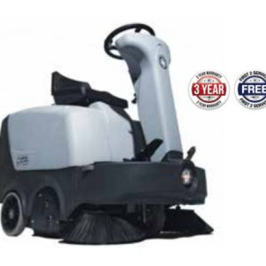 Nilfisk SR1000S Ride On Behind Battery Operated Sweeper